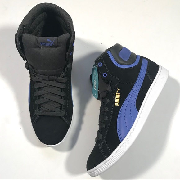 Puma Vicky Mid Soft Foam High Top Sneaker Suede